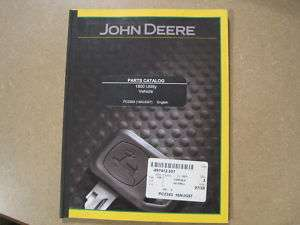 John Deere 1800 utility vehicle parts manual JD UV