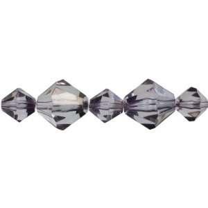 Cousin Jewelry Basics 35 Piece Acrylic Smoke Bicone Mixed