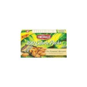 Emerald Dry Roast Almonds, 100 Calorie Pack, 4.41 Ounce Packages (Pack