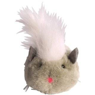 Zanies Plush Skedaddles Cat Toy, Mouse, 3 Inch