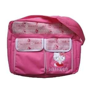 Hello Kitty Multi functional Diaper Bag   Pink Baby