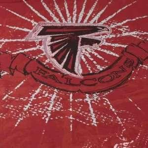 Atlanta Falcons NFL Team Shine II Red T Shirt Sports