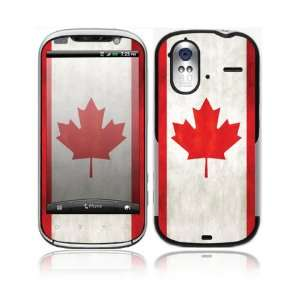 Canada Decorative Skin Cover Decal Sticker for HTC Amaze 4G Cell Phone