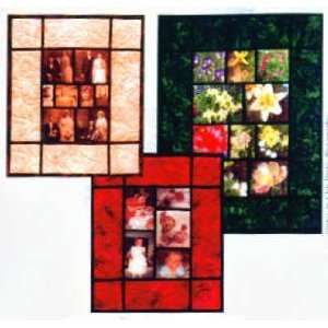 Shutterbug Sampler Memory Quilt Pattern by Jean Boyd Arts