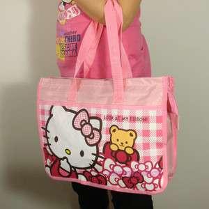 Hello Kitty Shopping handbag Tote lunch box bag 0511KTG
