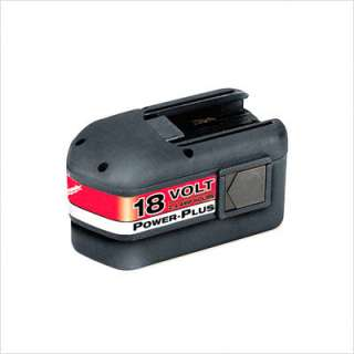 Milwaukee 18 Volt Power Plus Ni Cd Battery Pack 48 11 2230 2611 4165