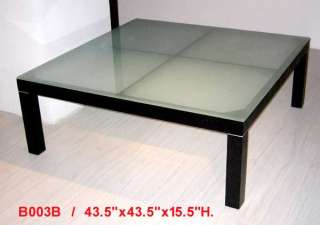 cappuccino finish wood w glass top coffee table in stock ready to ship
