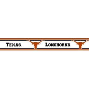 Texas Longhorns Wallpaper Border Trademarx: Everything