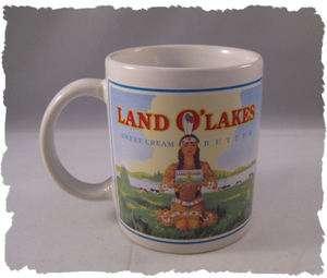 Land OLakes Sweet Cream Butter Ceramic Coffee Mug NEAT