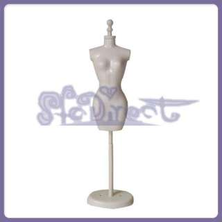 10 3/4 in MANNEQUIN DRESS FORM for Barbie Doll DISPLAY