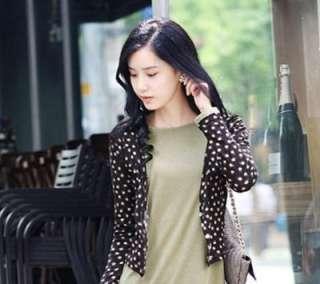 New Fashion Jewelry Korean Style Golden Flower Stud Earring