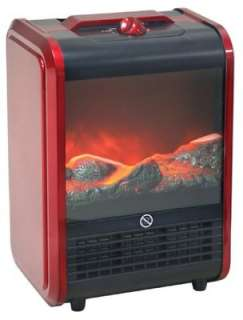 Zone Portable Fireplace w/ flame effect Space Heater Winter Room Warm
