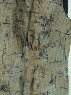 MICHAEL KORS Metallic Shift Dress (Size 8)