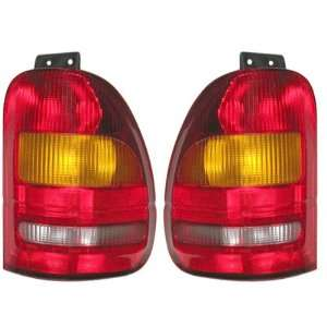95 96 97 98 Ford Windstar Van Taillight Tail Light PAIR
