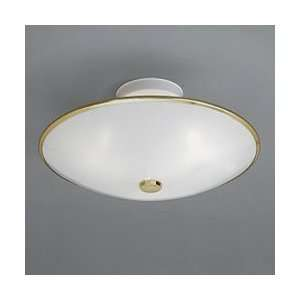 Progress Polished Brass Economy Ceiling Fixture