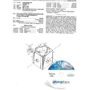 NEW Patent CD for OPTO ELECTRONIC LIQUID LEVEL SENSOR FOR MAINTAINING