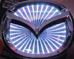 new 3D LED Car Decal Logo Light Badge Lamp Emblem Sticker for Mazda 6