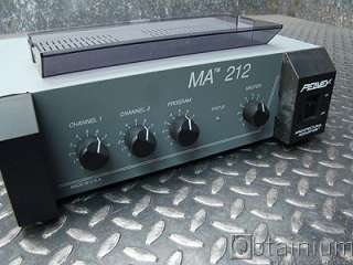 Peavey 3 Channel Power Mixer Amplifier MA 212