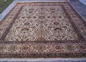 FINE 150 KPSI PERSIAN TABRIZ HAND KNOTTED WOOL AREA RUG CARPET