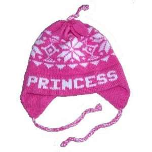 personalized snowflakes ear flap hat