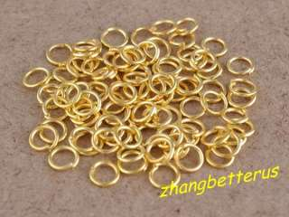 800 Pcs gold plated split Open Jump Rings jewelry findings connectors