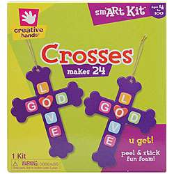 Fibre Craft Creative Hands Crosses Foam Kit