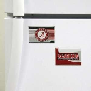 Alabama Crimson Tide Two Pack Magnet Set Sports