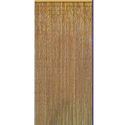 Natural Bamboo Beaded Curtain (Vietnam)  Overstock