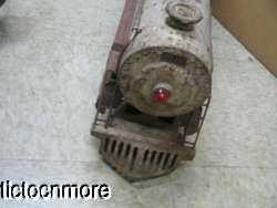 ANTIQUE KEYSTONE SIT N RIDE RIDE ON TRAIN STEAM ENGINE 1501 TRUCK TOY