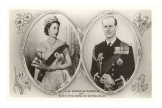 Queen Elizabeth and Prince Philip Posters at AllPosters