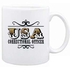 New  Usa Correctional Officer   Old Style  Mug
