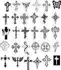 Car Decal Vinyl Wall Home Decor Sticker Christian Cross