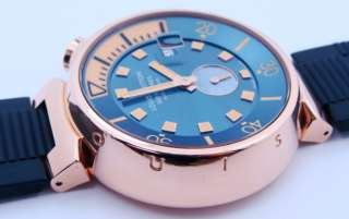 Mens Louis Vuitton 18K Pink Gold Tambour DIVING Automatic Watch SOLD