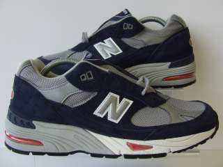 New Balance Classic 991 SBS Navy Blue Red Grey Mens Retro Trainers