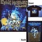 MAIDEN LIVE AFTER DEATH SBIT 2008 TOUR T SHIRT XL X LARGE NEW OFFICIAL