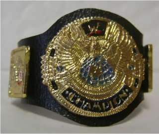 WWF Attitude Era World action figure belt PAINTED the Rock Stone Cold