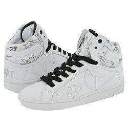 Baby Phat Tag Cat Hi White/Black