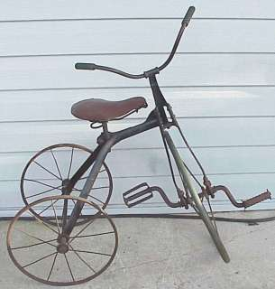 Antique Tricycle. Made by Who?