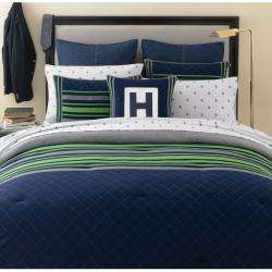 Tommy Hilfiger Rugby Navy Twin size Comforter Set