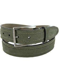Tommy Bahama Mens Suede in the Shade Olive Belt