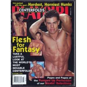 Playgirl Magazine, issue dated November 2000 SPECIAL issue