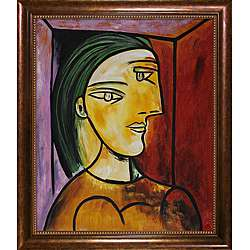 Picasso Paintings Marie Therese w/ Verona Cafe Coffee Brown Patina