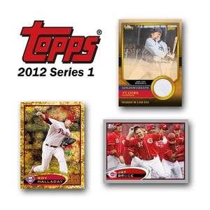 2012 Topps Series 1 Baseball Factory Sealed Box