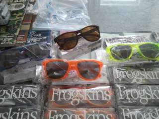 FROGSKINS BLACKLIGHT ACID ORANGE CAMO 24K SHAUN WHITE LIMITED