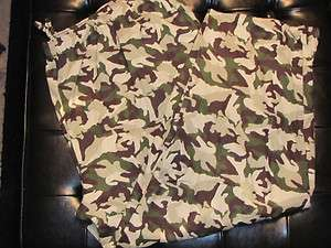 3XLT Pajama Lounge Pants Bottoms Flannel CAMO Camouflage 3XL TALL $38
