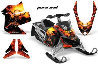 SKI DOO REV XP SLED GRAPHICS KIT DECALS PE