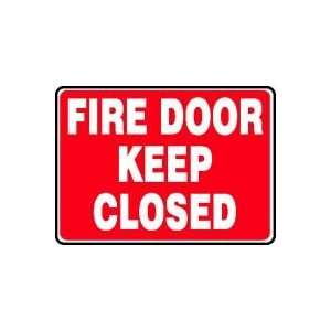 Sign,10x14 In,fire Door Keep Closed   ACCUFORM SIGNS