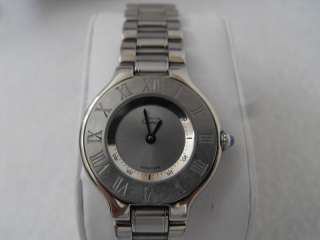 ON SALE CARTIER LADIES MUST DE 21 QUARTZ WATCH W10109T2