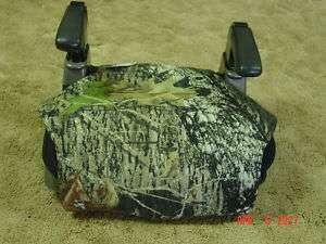 Mossy oak camo booster seat cover