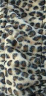 Universal Grip Steering Wheel Cover Soft Cheetah Cat Animal Print NEW